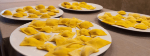 Class of Ravioli and Meatballs in Rome