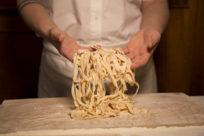Fettuccine Making in Rome